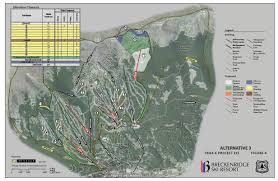 Breckenridge Ski Map Breckenridge Peak 6 Expansion U2013 Summit County Citizens Voice