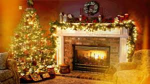 Welcome Home Decor Christmas Fireplace Background 2016christmas Ideas Name Holiday
