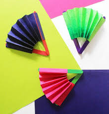 how to make paper fans craft how to make a paper fan crafts kids