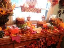 artistic fall mantel decorations