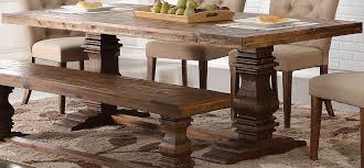 Distressed Dining Room Table by Normandy Vintage Distressed Dining Table From New Classic