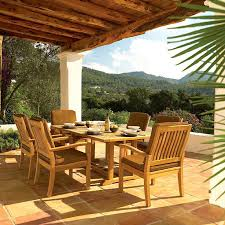 outdoor dining rooms charming quality ideas spanish style patio furniture teak outdoor