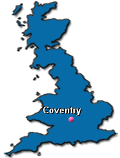 map uk coventry map uk coventry major tourist attractions maps