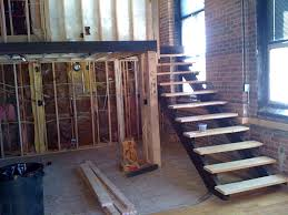 Stairs With Open Risers by Steel Stair Treads Vandome
