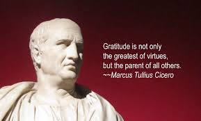 gratitude quotes churchill gratitude is not only the greatest of virtues but the parent of