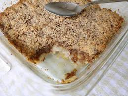 apple pear crumble apple pear cinnamon crumble paleo gluten free perchance to cook