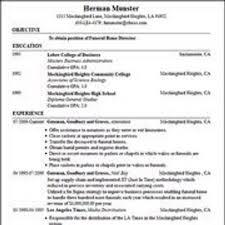 Free Job Resume by 7981 Best Resume Career Termplate Free Images On Pinterest