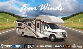class c motorhome reviews four winds class c rvs