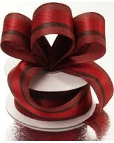 cloth ribbon hot winter bargains on polyester brown madras stripe cloth ribbon