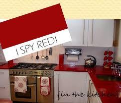 Red Kitchen Accessories Ideas 66 Best Red Kitchen Revitalized Images On Pinterest Red Kitchen