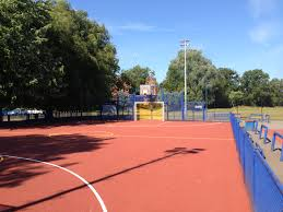 outdoor basketball court sports surfaces soft surfaces