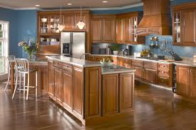 furniture oak cabinets by kraftmaid reviews for exciting kitchen