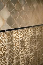 175 best kitchen images on pinterest kitchen backsplash ideas contessa arabesque and sevilla in silver leaf are a gorgeous combination of ceramic tile for the