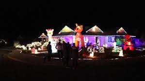 vandals destroy christmas decorations but not family u0027s holiday