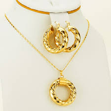 african gold necklace images Ethiopian necklace earrings dubai gold jewelry african sets gold jpg