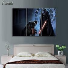 Star Wars Room Decor Ideas by Online Get Cheap Star Wars Canvas Painting Set Aliexpress Com