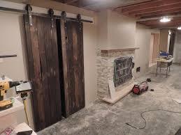 Sliding Wooden Doors Interior Interior Sliding Barn Door Track Tremendously Warm Sliding Barn