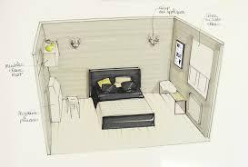 plan chambre 12m2 chambre 2 photo de a réalisation en projets coach deco lille