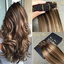 human hair extensions clip in dip and dye ombre clip in human hair extension