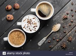 coffee cups top view stock photos u0026 coffee cups top view stock