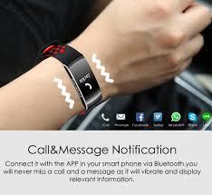 q8 ip68 blood pressure rate monitor fitness tracker smart