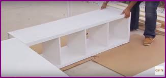 Diy Platform Bed With Storage by Diy Ikea Bookshelf Platform Bed With Storage Video