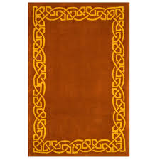 Celtic Area Rugs Traditional Rustic Area Rug Inspired By Celtic Ireland Celtic