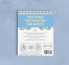 alpha delta pi coloring book college coloring books