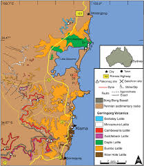 Permian Basin Map Regional Geologic Map Of The Kiama Region Sydney Basin