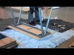 how to assemble ikea desk ikea assembly galant desk youtube