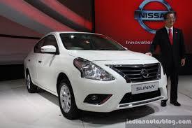 nissan sunny 2008 auto expo 2014 nissan sunny facelift revealed