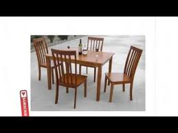 Contemporary Dining Room Tables And Chairs by Design Modern Dining Table Set Youtube