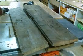 plateau bureau sur mesure fabrication sur mesure d un plateau de table en vieux mélèze de pays
