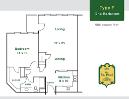 floor plans senior living community