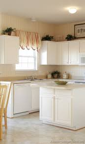 White Kitchen Cabinets White Appliances Impressive Small Kitchen With White Cabinets Fantastic Interior