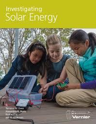 investigating solar energy vernier