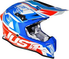 safest motocross helmet just1 j12 dominator white red blue motorcycle helmets