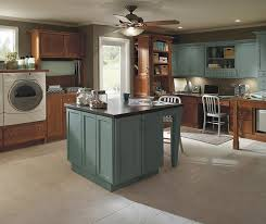 blue maple cabinets kitchen laundry room cabinets schrock