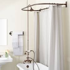 Bath Shower Conversion Freestanding Showers Shower Systems Shower Kits Signature Hardware