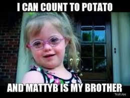 Count To Potato Meme - amazing count to potato meme sarah grace i can count to potato and