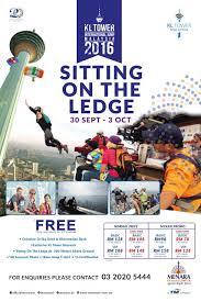 Seeking Kl Kl Tower International Jump Malaysia 2016 Sitting On The Ledge