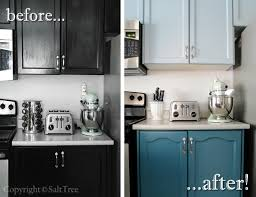 Painted Kitchen Cabinets Before After Before And After Painted Kitchen Cabinets Elegant U2014 Desjar