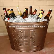 Oval Party Beverage Tub by 66l Oval Metal Party Beer Cooler Ice Bucket Party Tub Buy Oval