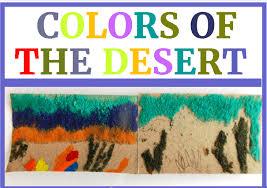 desert sand art day 2 hands on learning colors of the desert