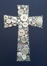 cross button art maybe i can do this with all those buttons i got