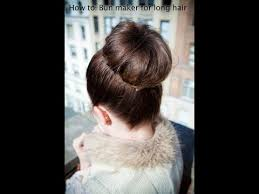 donut bun hair how to donut bun for hair