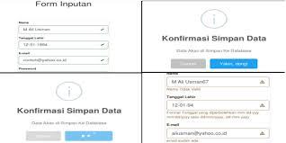 membuat form input menggunakan html membuat form input dengan validasi jquery style bootstrap dan
