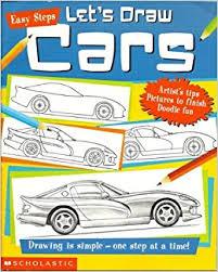 u0027s draw cars easy steps amazon books