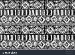 fabric pattern tribal ornament ethnic style stock vector 679872472