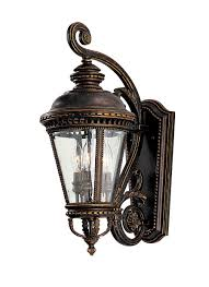 Murray Feiss Lighting Catalog Ol1901gbz 3 Light Wall Lantern Grecian Bronze